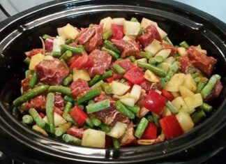 Thai Yellow Beef Curry Slow Cooker