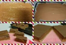 Condensed Milk Caramel Slice