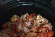 Slow Cooker Chicken Goulash